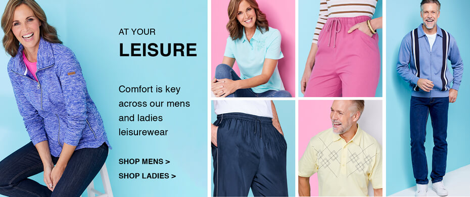 Shop Leisurewear