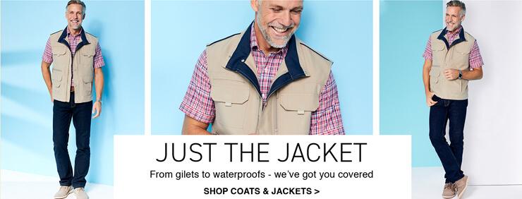 Shop Mens Coats and Jackets