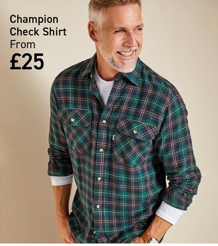 Shop Champion Check Shirt