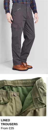 Shop Lined Trousers