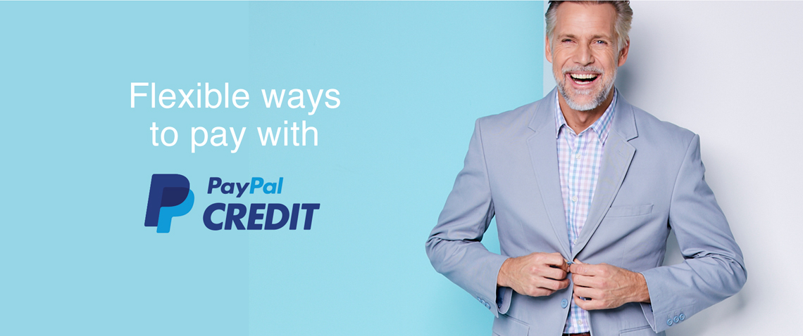 Flexible ways to pay with PayPal Credit