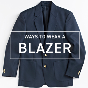 How to wear a blazer