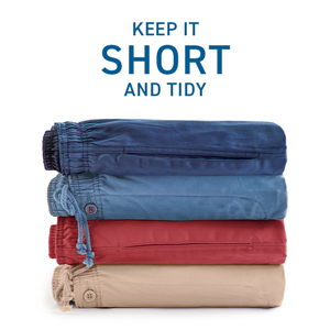 How to store shorts