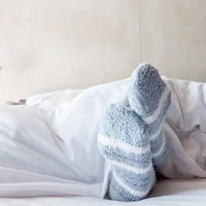 Should I wear socks to bed?
