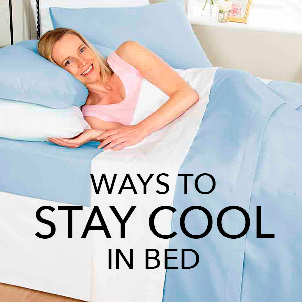 How to keep cool at night