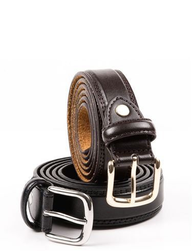 1 inch Bonded Leather Belt