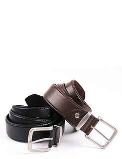 1.5 Inch Bonded Leather Belt
