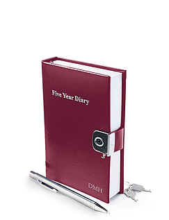 Leather Five Year Diary