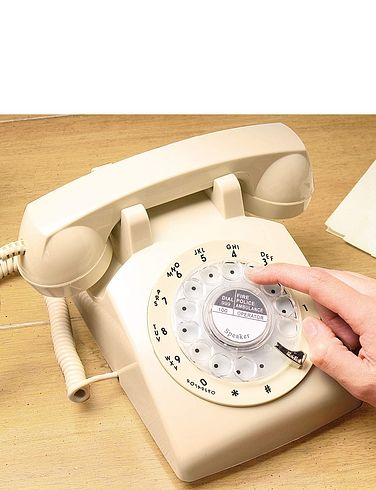 Retro Rotary Telephone