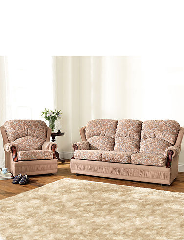 Chorlton Suit Three Seater Settee + Two Chairs