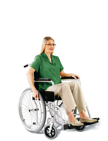 Self-Propelled Lightweight Wheelchair