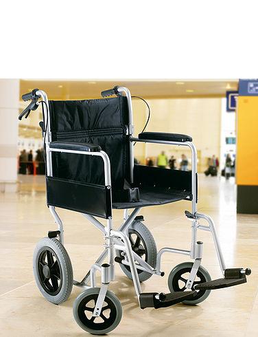 Lightweight Aluminium Transit Wheelchair