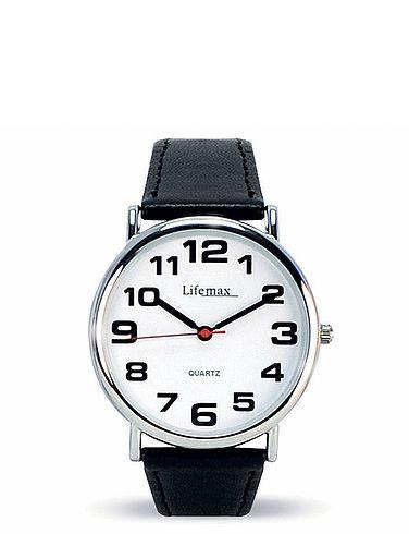 Men's Clear Time Classic Quartz Watch
