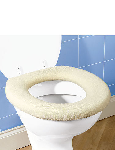 Fleece Toilet Seat Cover
