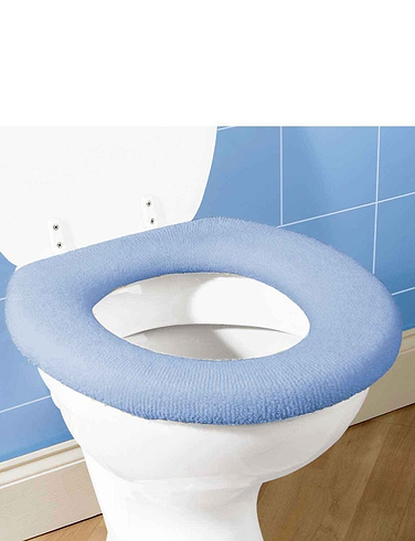 Fleece Toilet Seat Cover