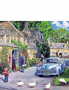 The Milk Mans Round Box Set Jigsaw Puzzles