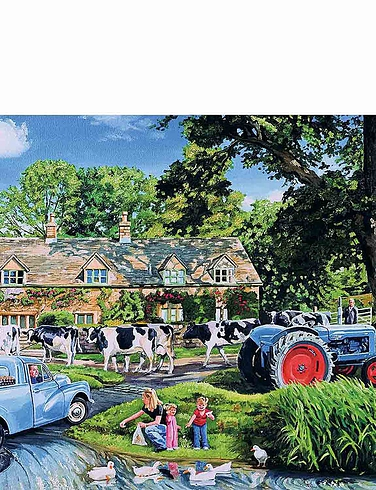 The Milkman's Round Boxed Set Of 4 x 500Pc Jigsaw Puzzles