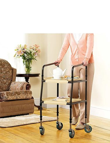 Handy Height Adjustable Trolley
