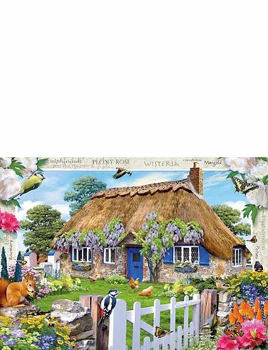 1000pc Jigsaw Puzzle Wisteria Cottage