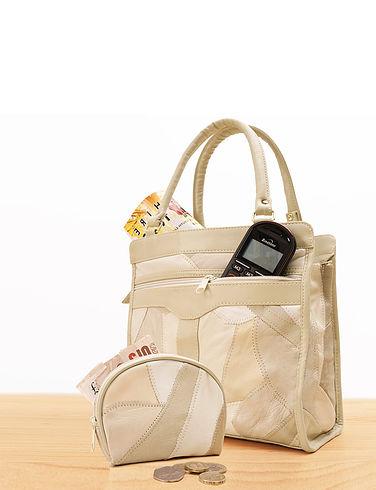 Luxury Leather Shopping Bag