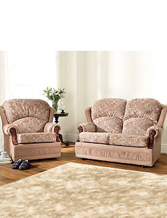 Chorlton Two Seater Settee Plus 1 x Chair Suite