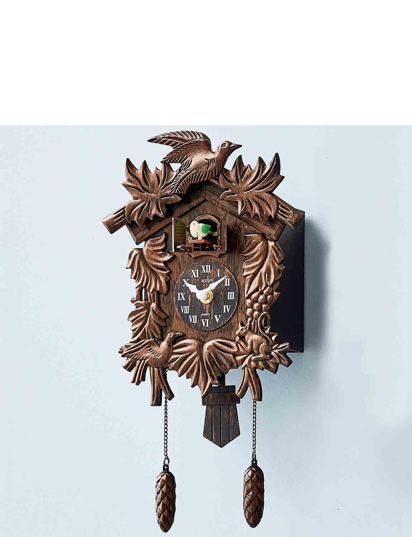 Cukoo Clock  - Mahogany