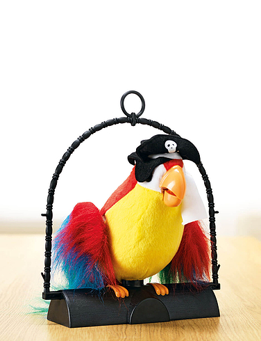 Pirate Pete The Repeating Parrot