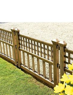 Bronze Fence