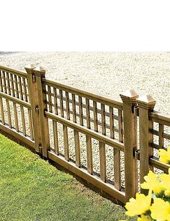 Bronze Fence Panels