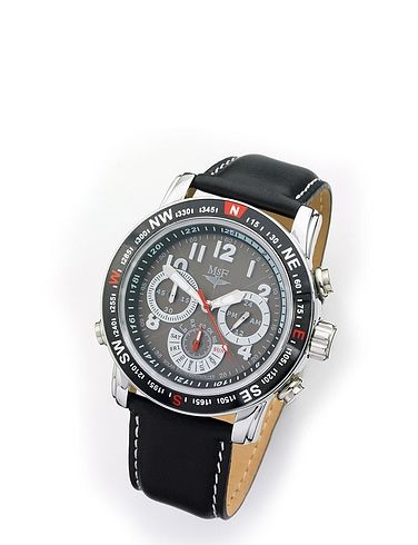 Solar Powered Radio Controlled Chronometer Watch