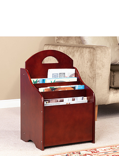 Telford 2-in-1 Magazine Rack and Table