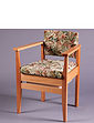 Upholstered Wooden Commode