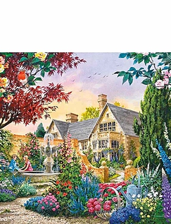Flora & Fauna - 4 x 500 Jigsaw Puzzles