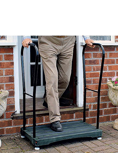 Bigfoot Half Step With Two Support Handles