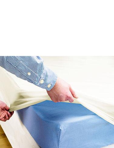 Waterproof Flannelete Mattress Protector