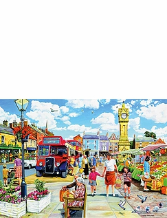 A Trip To The Shops - 4 x 500 Jigsaw Puzzles