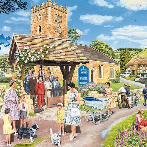 Escape To The Country New 1000pcs Jigsaw Puzzles