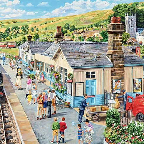 The Country Station New 1000pcs Jigsaw Puzzles