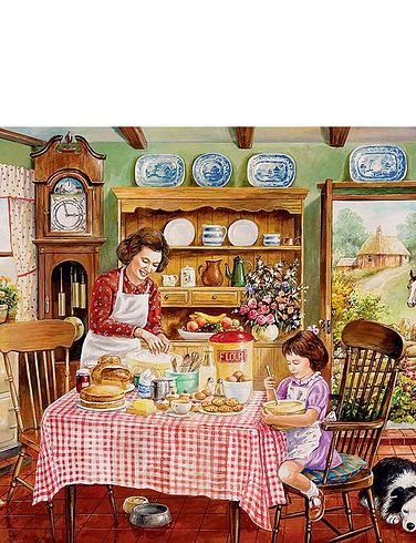 The Kitchen Garden Boxed Set Of 2 Jigsaw Puzzle