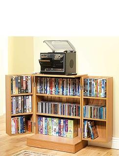 Standard Free Standing Media Storage Cabinet