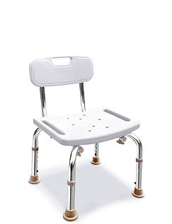 Sturdy Shower Bath Seat With Back Rest