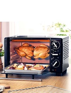 18 Ltr Mini Oven - With Rotisserie