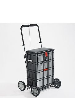 Shop A Seat 4 Wheel Trolley