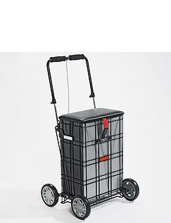 Shop A Seat four Wheel Trolley