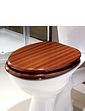 Wood Effect Toilet Seat