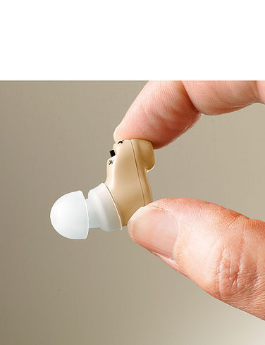Rechargeable In-Ear Hearing Amplifier