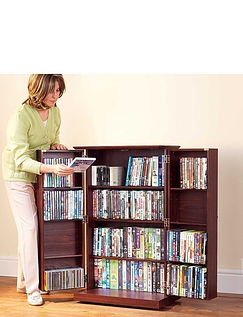Deluxe Free Standing Media Storage Cabinet/ TV Stand