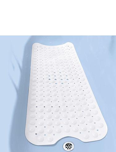 Slip-Secure Mould-Resist Extra-Long Bath Mat