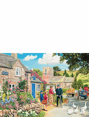 Bobbys Beat Boxed Set Of 4 x 500pc Jigsaw Puzzles
