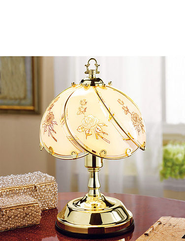 Set Of Two Classic Touch Lamps